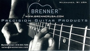 [Brenner Precision Guitar Products]