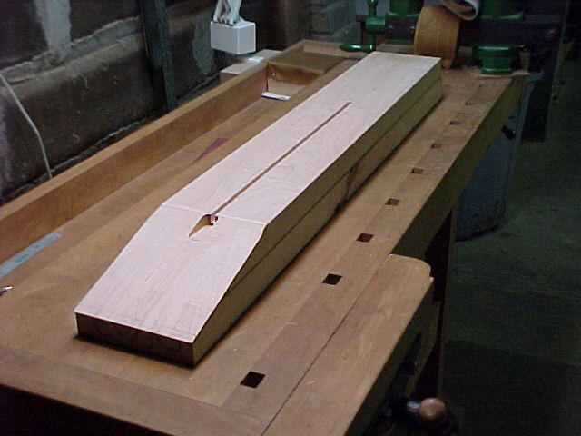Truss Rod Slot and Cavity