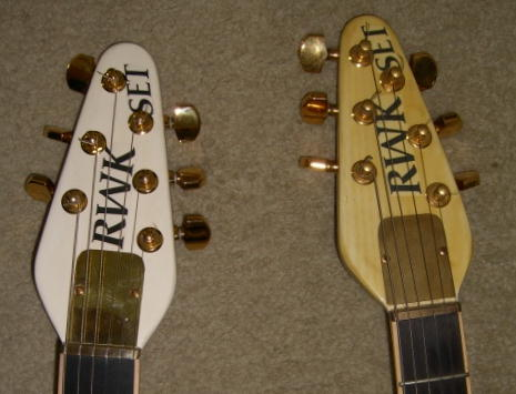 Original and 20th - Headstock front