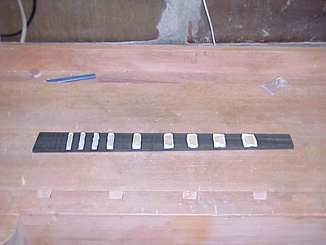 Fretboard Inlay Routing Preparation