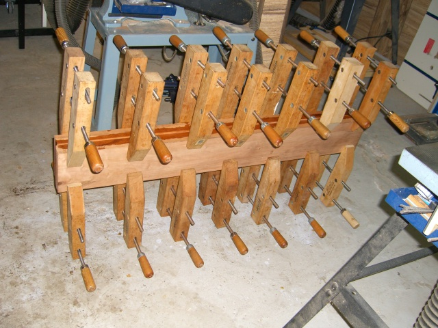 Planks glued